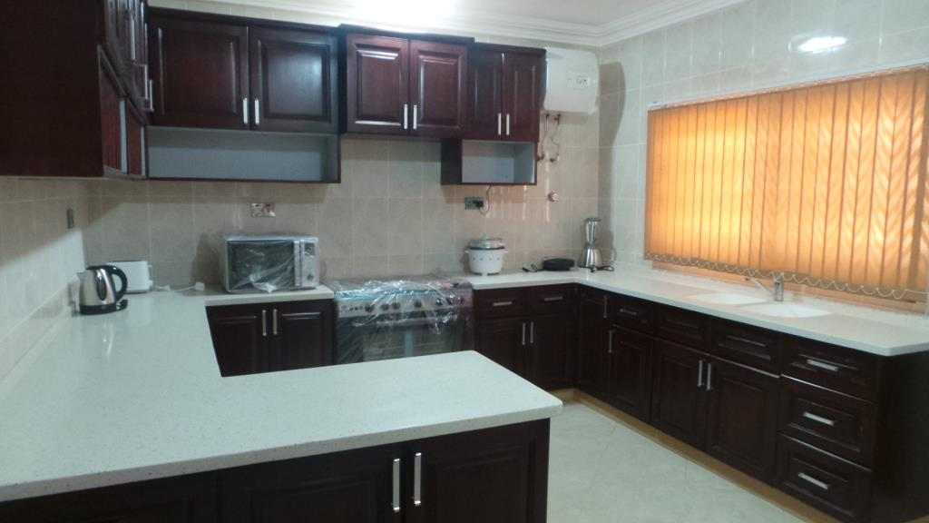 5 Bedroom Fully Furnished Exe. House For Rent in Prampram