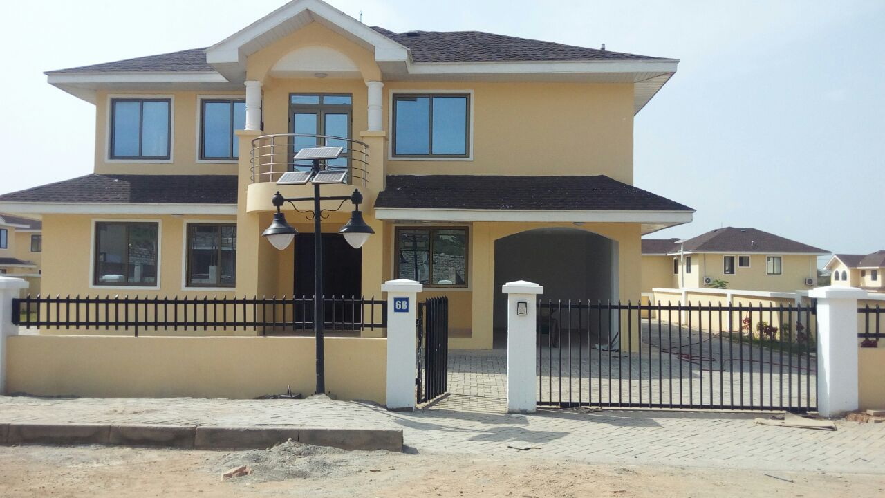 Best houses in ghana for Modern house plans in ghana