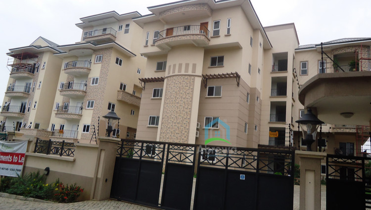 3 bedrooms executive furnished apartment for rent at ridge for Apartment plans in ghana