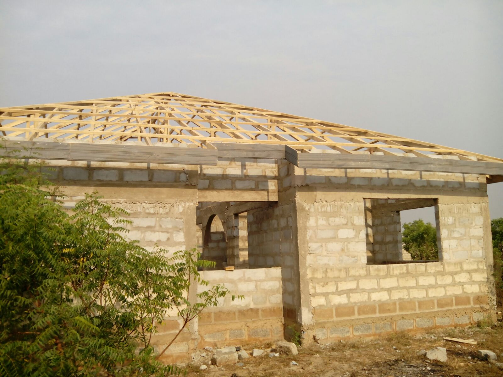 An Uncompleted 3 Bedroom House For Long Lease Houses For