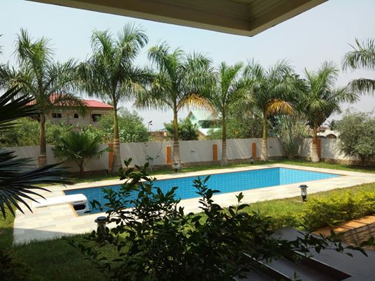 5 bedroom house with swimming pool for sale at Trasacco East Legon Accra 1 5 bedroom house with swimming pool for sale at Trasacco, East Legon Accra 1