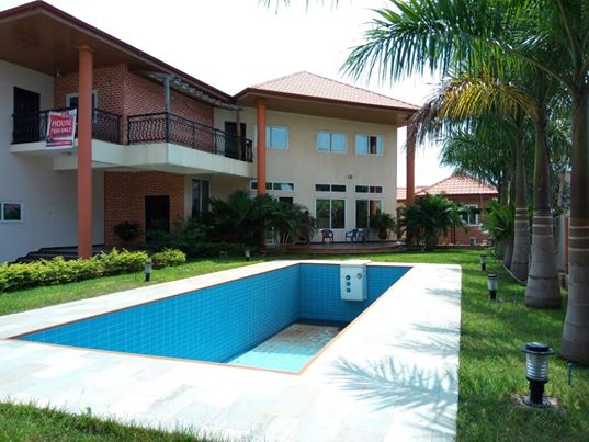 5 bedroom house with swimming pool for sale at Trasacco East Legon Accra 5 bedroom house with swimming pool for sale at Trasacco, East Legon Accra